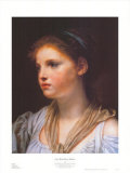 Girl with Blue Ribbon Posters by Jean-Baptiste Greuze