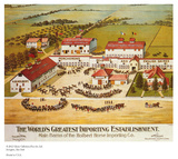 Iowa Horse Importer Print