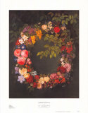 Garland of Flowers Prints by Johan Laurentz Jensen