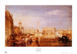Grand Canal, Venice Print by William Turner