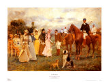 Polo Match Print by Francisco Miralles