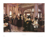 Paris Patisserie, 1889 Prints by Jean Béraud