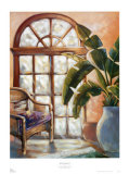 Key West Interior I Print by Virginia Leonard