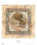 Orbis Terrae II Posters by Zachary Alexander