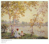 Late Afternoon Sunshine Posters by Edward Dufner
