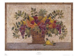 Amalfi Mosaic Prints by Jerry Sic