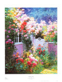 Rosebay Cottage Posters by Charles Zhan