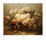 Peonies Posters by Abbott Fuller Graves