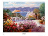 Terrasse de Cove Point Poster par Charles Zhan
