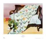 Tulip Quilt Posters by Raenell Doyle