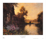 Summer Evening Beaumont Print by Louis Aston Knight