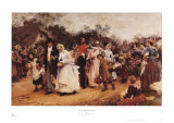 Wedding Procession Prints by Samuel Luke Fildes