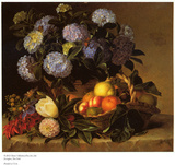 Hydrangea in an Urn Prints by Johan Jensen