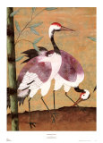 Serenade of Cranes I Posters