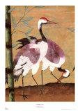 Serenade of Cranes I Posters