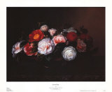 Camellias Prints by Johan Laurentz Jensen