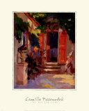Red Shutters Prints by Camille Przewodek