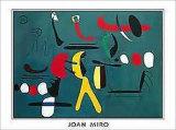 Peinture De La Facon Collage Posters av Joan Miró