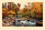 Ivy Sentinels Print by Connie Boswell