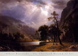 Half Dome, Yosemite Valley Posters by Albert Bierstadt