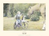 In giro con cavalli Stampe di Betsy Cameron