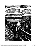 Pânico Posters por Edvard Munch