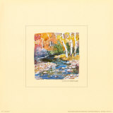 Autumn Stream Print by Dawna Barton