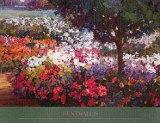 Colori in giardino Poster di Kent Wallis