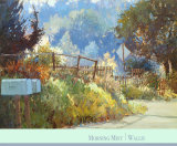 Morning Mist Stampe di Kent Wallis