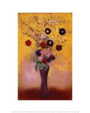 Vase mit Blumen, 1916 Poster von Odilon Redon