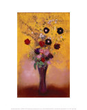Vase of Flowers, 1916 Posters by Odilon Redon