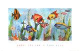 Im Meer Poster von Linn Done