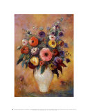 Vase of Flowers, 1912 Prints by Odilon Redon