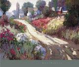 Strada in primavera Poster di Kent Wallis
