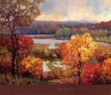 Sfumature d'autunno Poster di Kent Wallis