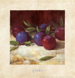 Plums Prints by Richard Boyer