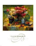 Garden Still Life Print by Galust Berian