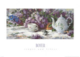 Teapot and Lilacs Prints by Richard Boyer