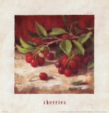 Cherries Posters by Richard Boyer