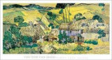 Farms near Auvers, c.1890 Prints by Vincent van Gogh
