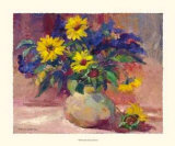 Sunflowers Poster by Dawna Barton