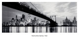 New York, Manhattan Skyline, 1965 Prints