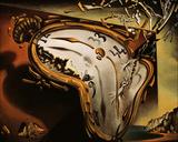 Montre molle au moment de la première explosion, 1954 Affiches par Salvador Dalí