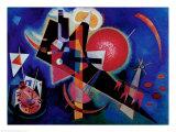 Bleu Affiches par Wassily Kandinsky