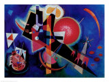 Blue Art by Wassily Kandinsky