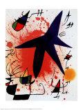 L'Etoile Bleue Kunst af Joan Miró