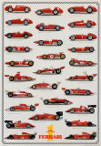 Cars Ferrari Formula I Prints