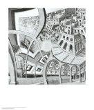 Bildergalerie13 Kunstdruck von M. C. Escher