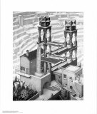 Chute d&#39;eau Posters par M. C. Escher