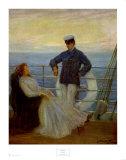 Flirtation Kunst von Abbott Fuller Graves
